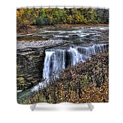 0016 Letchworth State Park Series  Shower Curtain