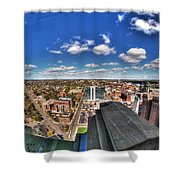 0017 Autumn Days Of Buffalo Ny Birds Eye Shower Curtain