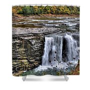 0017 Letchworth State Park Series  Shower Curtain