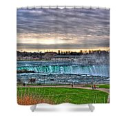 002 View Of Horseshoe Falls From Terrapin Point Series Shower Curtain