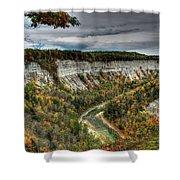 0022 Letchworth State Park Series   Shower Curtain