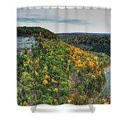 0025 Letchworth State Park Series   Shower Curtain