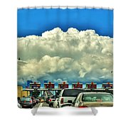 003 Grand Island Bridge Series  Shower Curtain