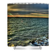 003 In Harmony With Nature Series Shower Curtain