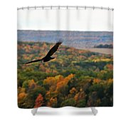 003 Letchworth State Park Series  Shower Curtain