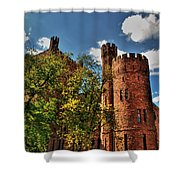 003 The 74th Regimental Armory In Buffalo New York Shower Curtain