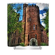 004 The 74th Regimental Armory In Buffalo New York Shower Curtain
