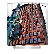 005 Guaranty Building Series Shower Curtain