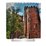 005 The 74th Regimental Armory In Buffalo New York Shower Curtain
