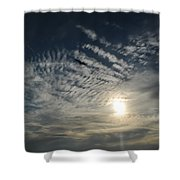 005 When Feeling Down  Pick Your Head Up To The Skies Series Shower Curtain