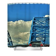 006 Grand Island Bridge Series Shower Curtain