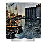 006 Uss Niagara 1813 Series Shower Curtain