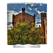 007 The 74th Regimental Armory In Buffalo New York Shower Curtain