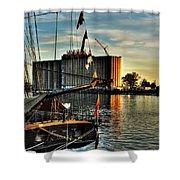 007 Uss Niagara 1813 Series Shower Curtain