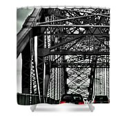 008 Grand Island Bridge Series Shower Curtain