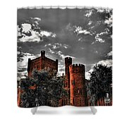 008 The 74th Regimental Armory In Buffalo New York Shower Curtain