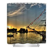 008 Uss Niagara 1813 Series Shower Curtain