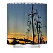 009 Empire Sandy Series Shower Curtain