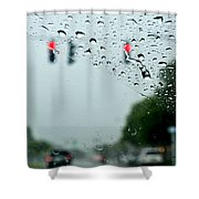 01 Crying Skies Shower Curtain