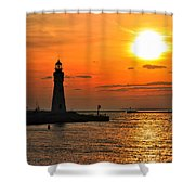 01 Sunset Series Shower Curtain