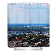 01 Toy Peace Bridge Shower Curtain