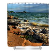 010 In Harmony With Nature Series Shower Curtain