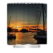 011 Empire Sandy Series Shower Curtain