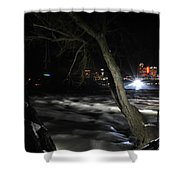 011 Niagara Falls Usa Rapids Series Shower Curtain