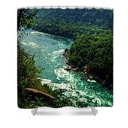 011 Niagara Gorge Trail Series  Shower Curtain