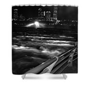 012 Niagara Falls Usa Rapids Series Shower Curtain