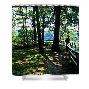 012b Niagara Gorge Trail Series  Shower Curtain