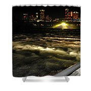 013 Niagara Falls Usa Rapids Series Shower Curtain