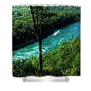 013 Niagara Gorge Trail Series  Shower Curtain
