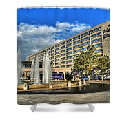 014 Wakening Architectural Dynamics Shower Curtain