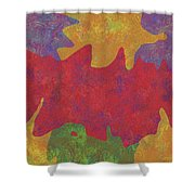 0146 Abstract Thought Shower Curtain