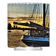 016 Empire Sandy Series Shower Curtain
