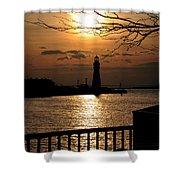 016 Sunset Series Shower Curtain