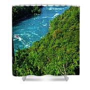 017 Niagara Gorge Trail Series  Shower Curtain