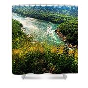 019 Niagara Gorge Trail Series  Shower Curtain