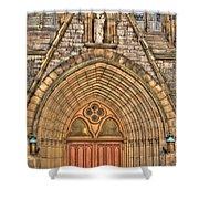 02 Church Doors Shower Curtain