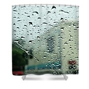02 Crying Skies Shower Curtain