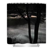 02 Niagara Falls Usa Rapids Series Shower Curtain