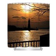020 Sunset Series Shower Curtain