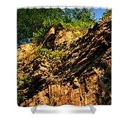 023 Niagara Gorge Trail Series  Shower Curtain