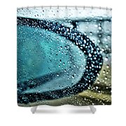 03 Crying Skies Shower Curtain