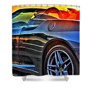 03 Ferrari Sunset Shower Curtain