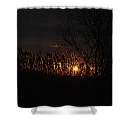 03 Sunset Shower Curtain
