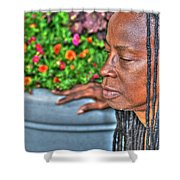 03 The Lioness Shower Curtain