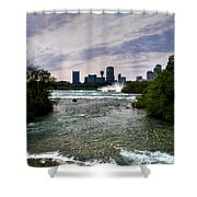 03 Three Sisters Island Shower Curtain