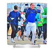 033 Shamrock Run Series Shower Curtain